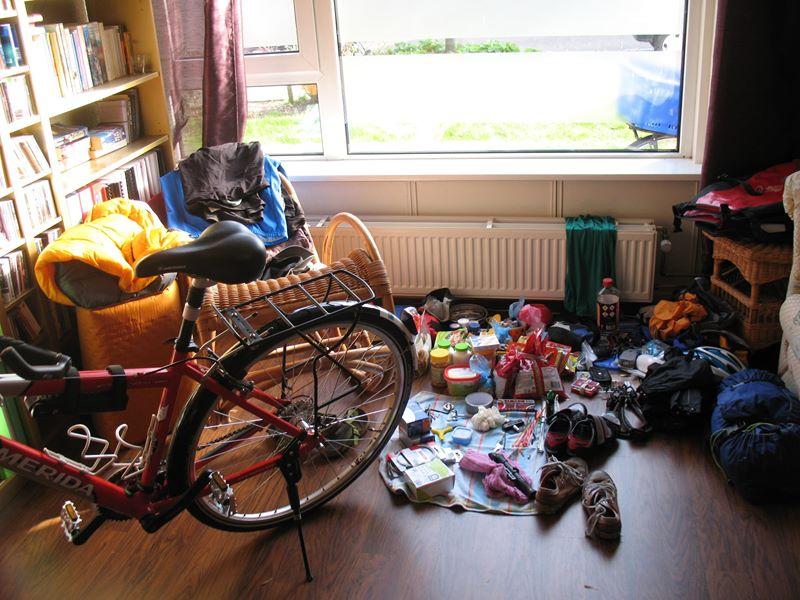 Packing for Black Sea Biking Adventure