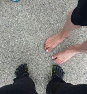 BLOG | Hardlopen op blote voeten
