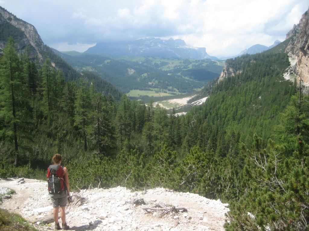 Hiking the Dolomiti