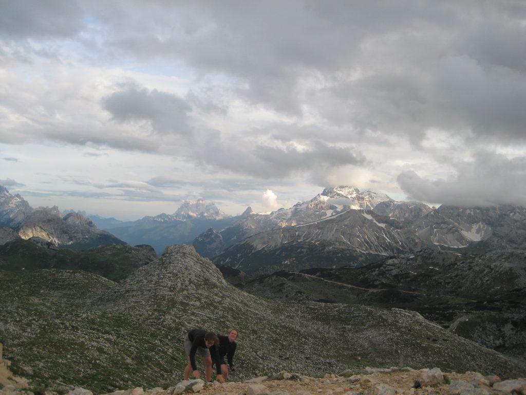 Refugio Biela hiking Via Dolomiti Italia 2