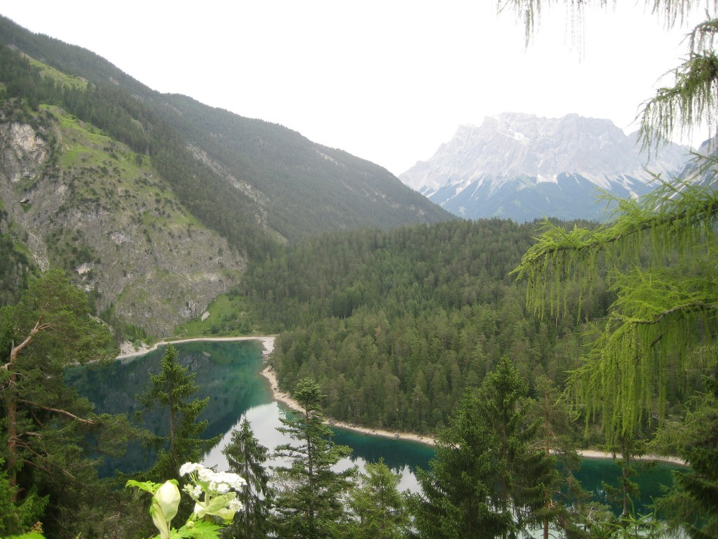 On the road, Zugspitse