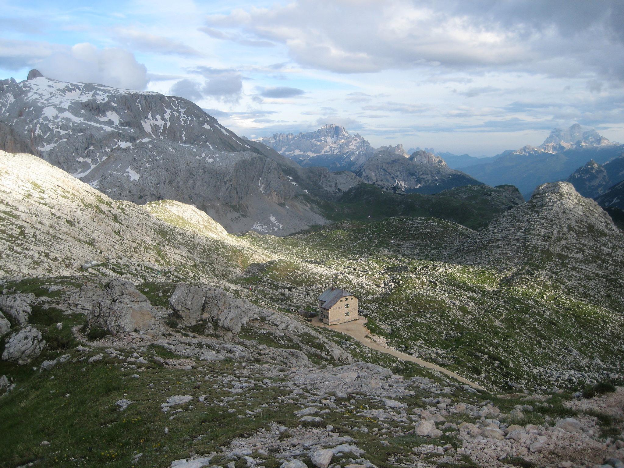 Rifugio Biella, Dolomiti