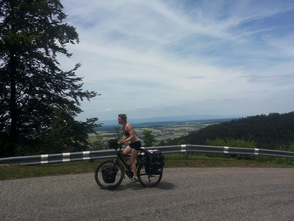 Suisse | BIKING from AMSTERDAM to the BALKANS via Switzerland