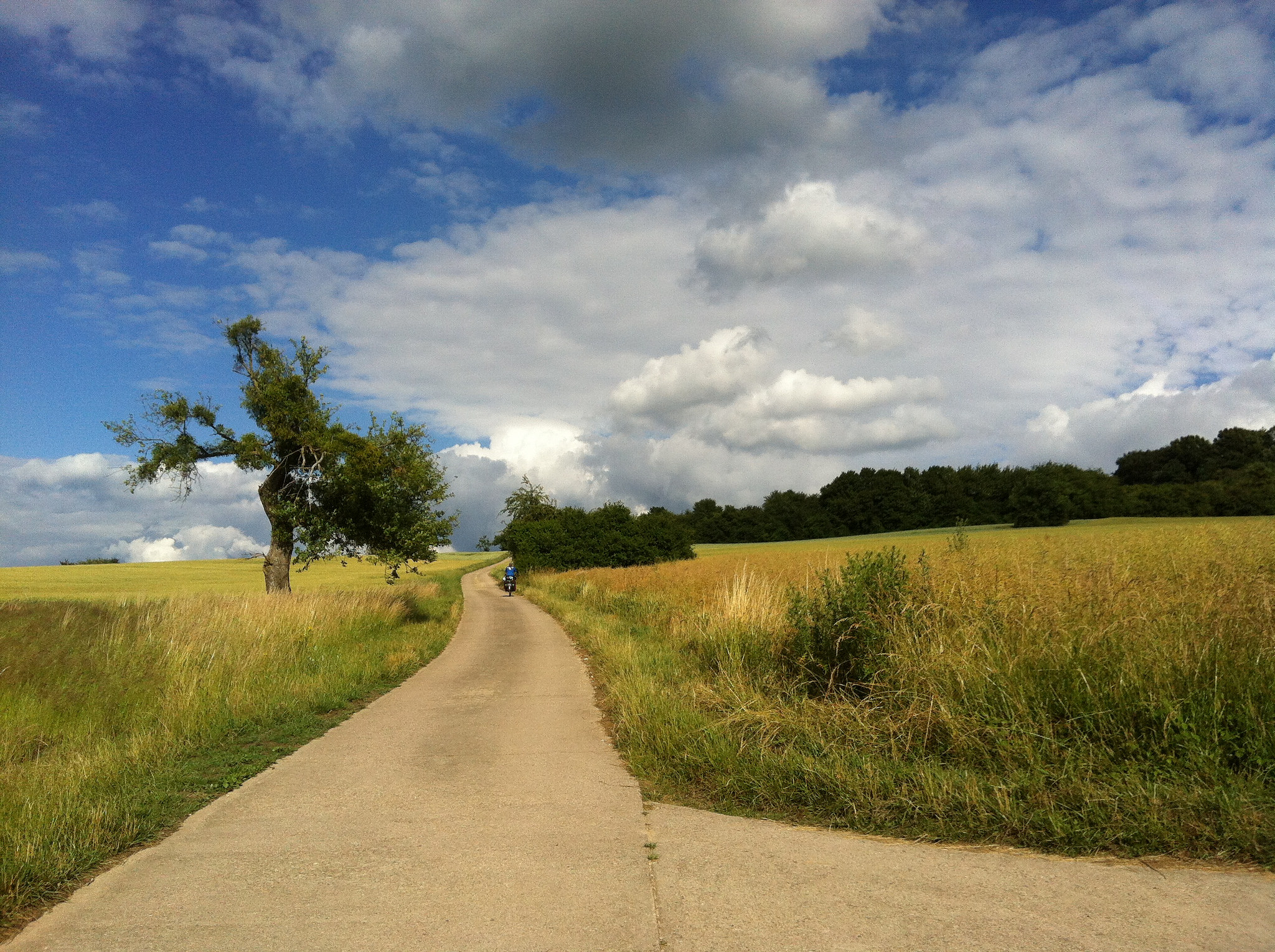 Hilly Luxembourg | BIKING from AMSTERDAM to the BALKANS