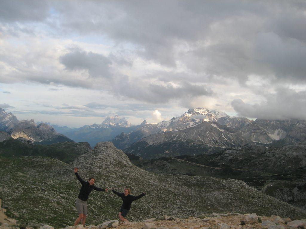 Refugio Biela hiking Via Dolomiti Italia 3