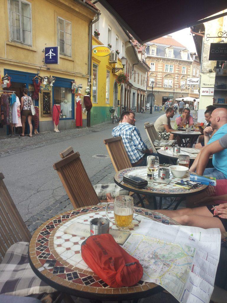Slovenia mini roadtrip | Ljubljana cafe