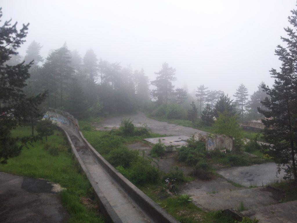 Bobsled, Trebević