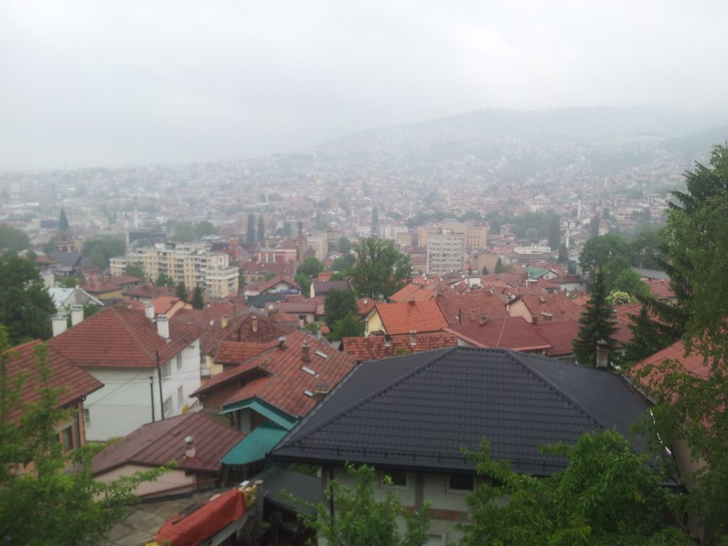 Uitzicht over Bistrik