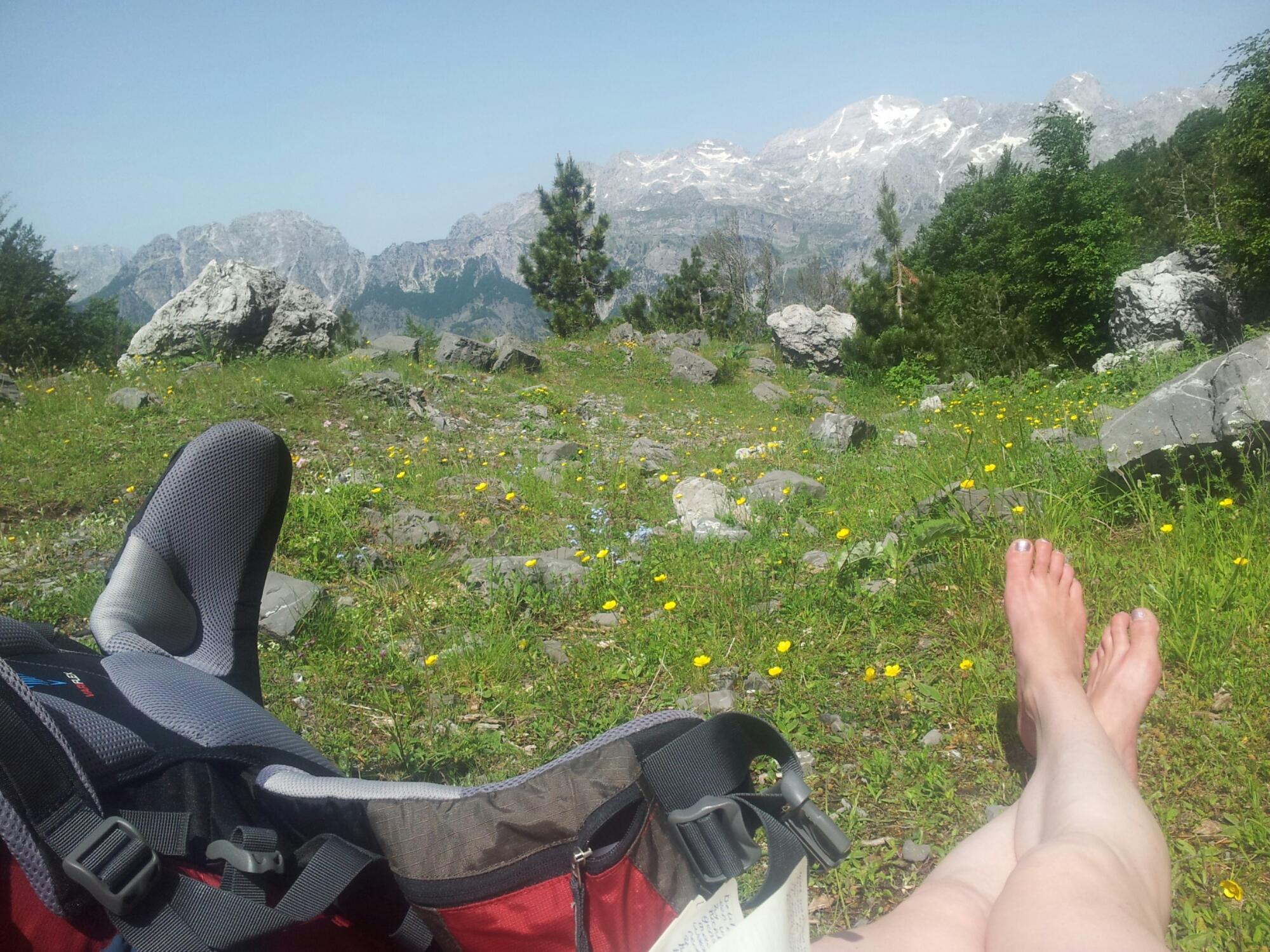 Thethi Valley, hiking Via Dinarica White Trail ALBANIA