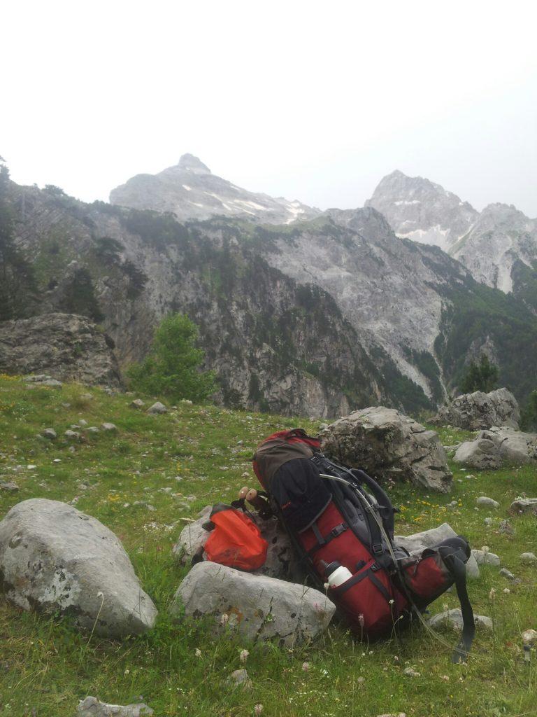 Hiking Via Dinarica White Trail ALBANIA Maja Jezercë