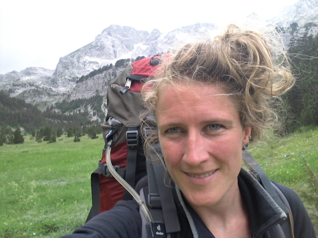 Peaks of the Balkans trail in Albania