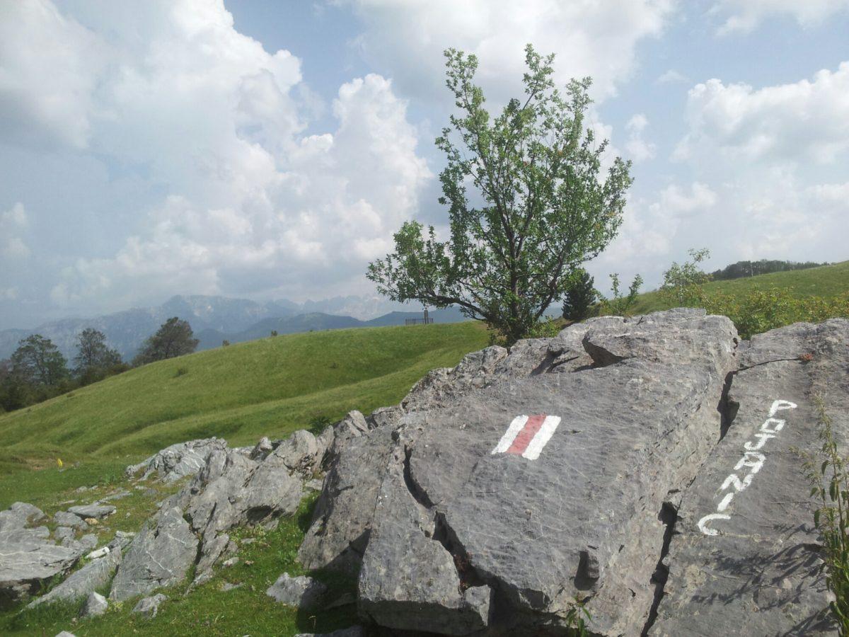 Prachtige Pojanic, Via Dinarica Albanië
