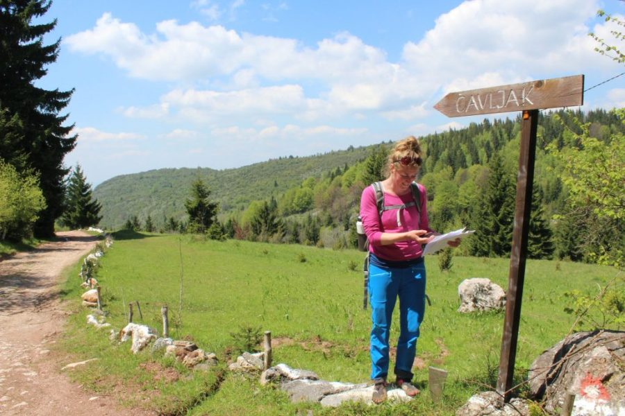 Navigating from Sarajevo to Vukov Konak
