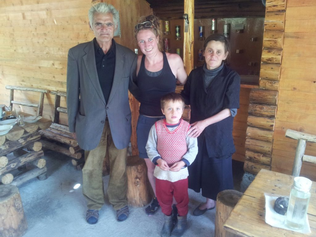 The family that runs a little bar in Rrogami, Albania | People on the Via Dinarica