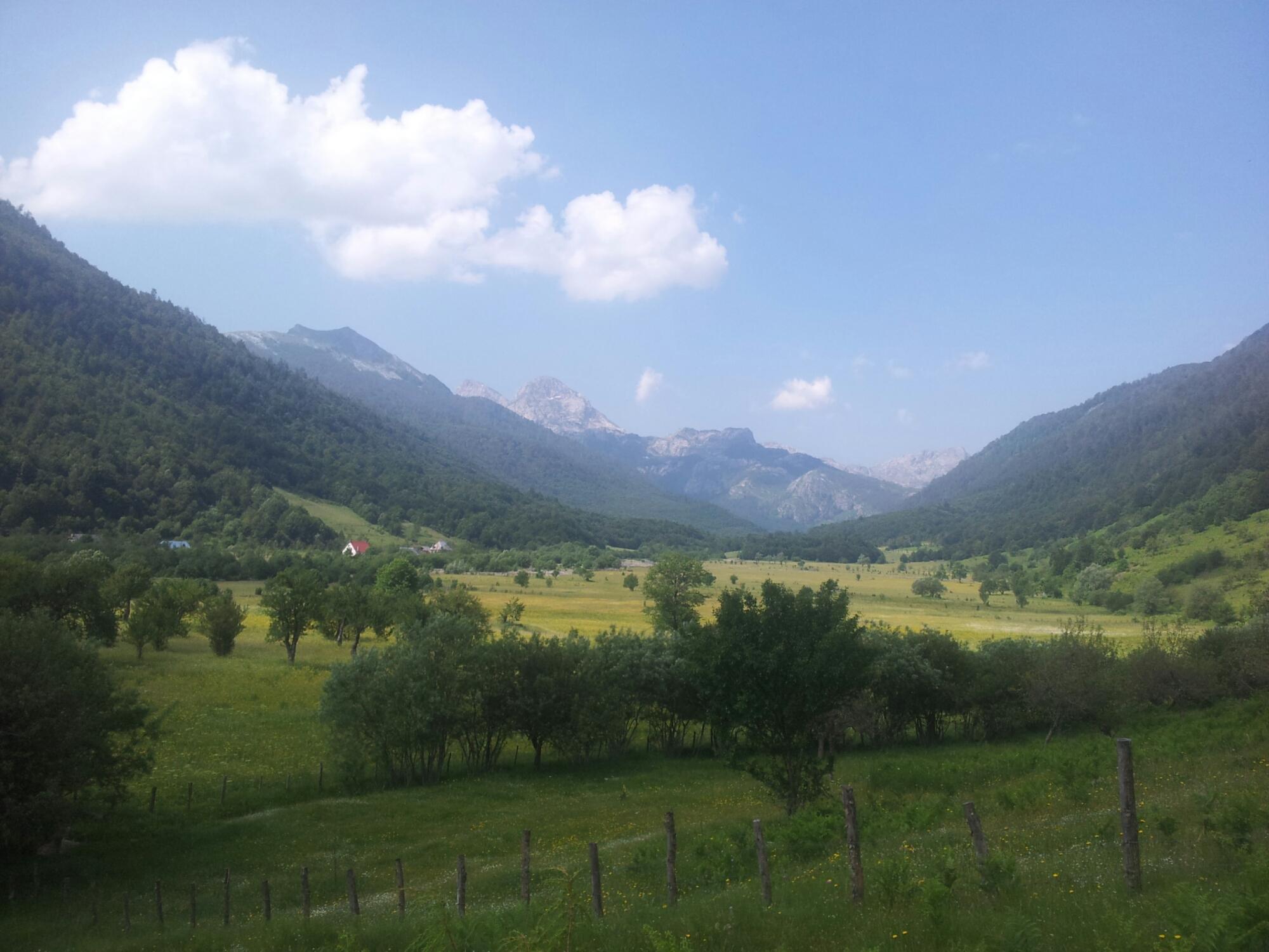 De andere tak van de vallei...