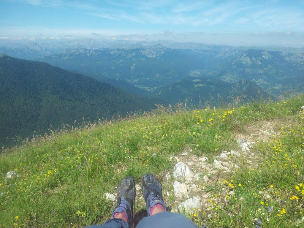 Pauzeren met uitzicht op BioGradska Gora