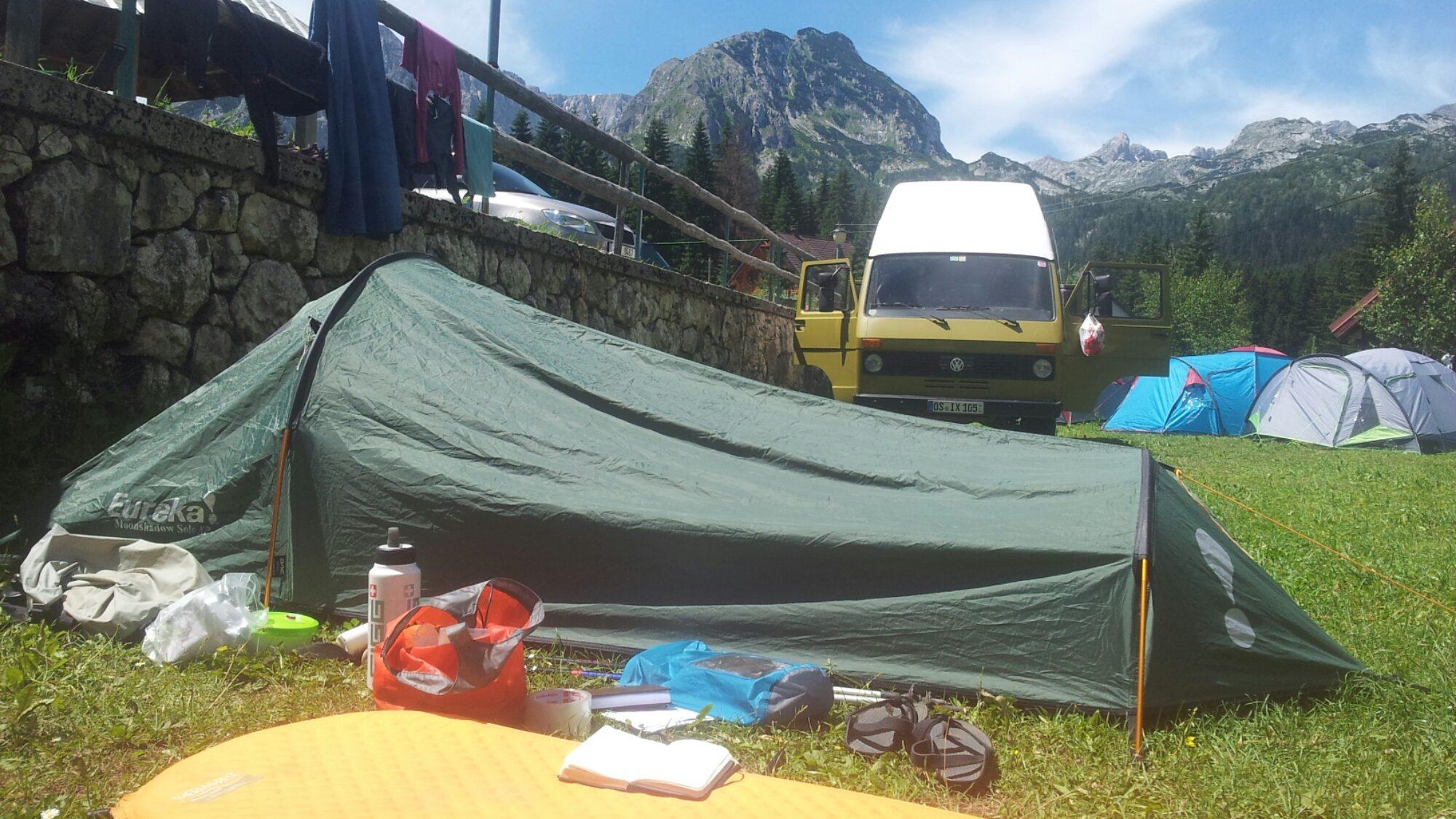 BLOG | In de tent