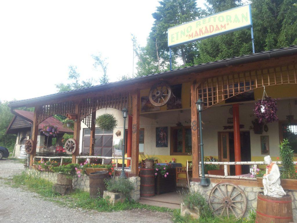 Etno Restoran Makadam, Tjentište