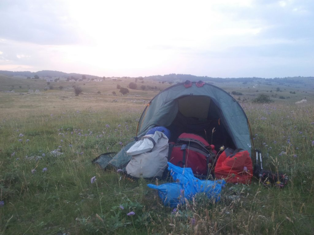 Bivouac at Blace | Lost on the Via Dinarica