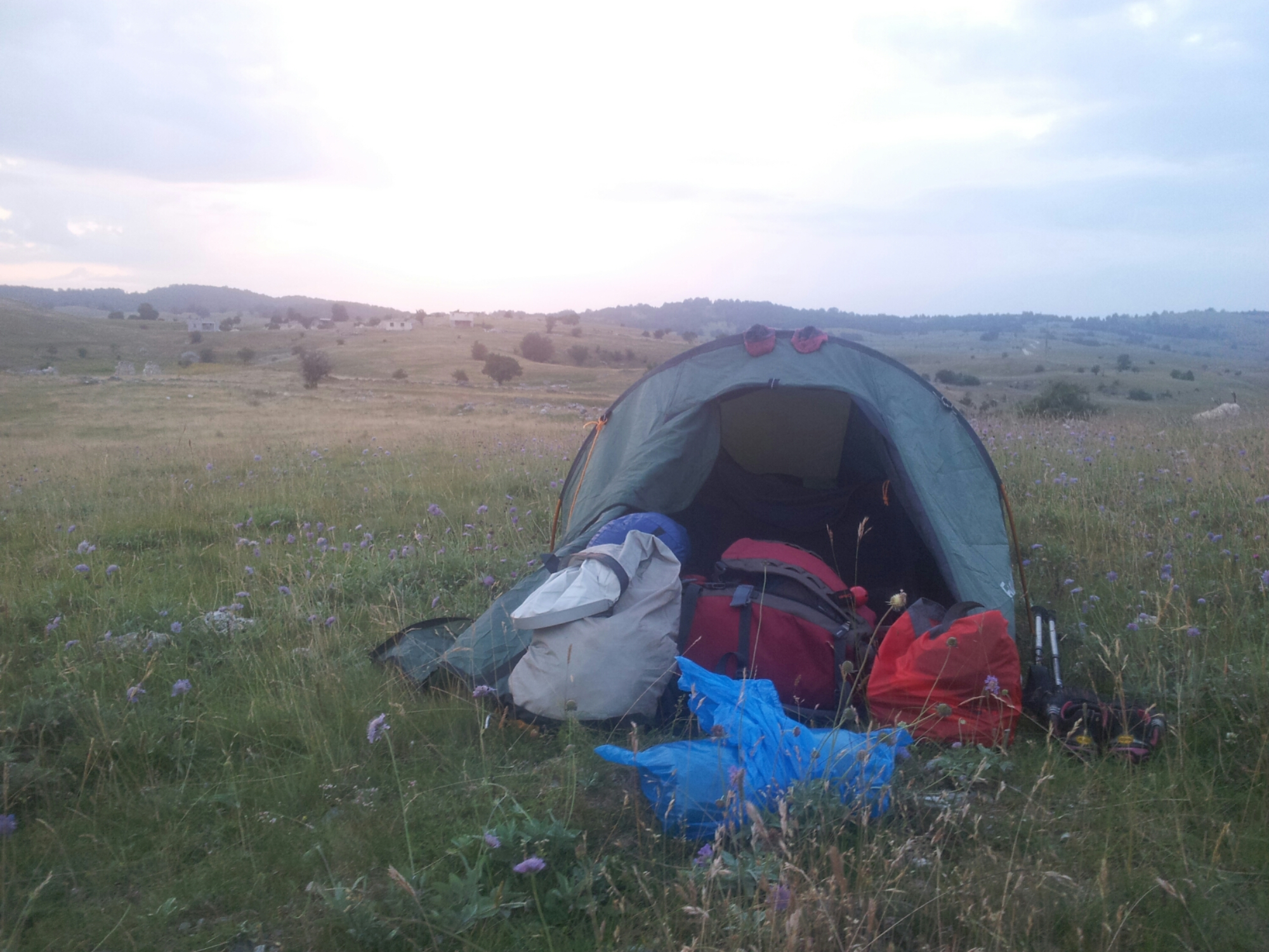 Blace bivouac, Bosnia and Herzegovina | Hiking Via Dinarica White Trail