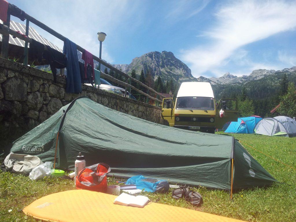 Kamp Ivan Do, Žabljak | Via Dinarica White Trail in the Mountains of Montenegro