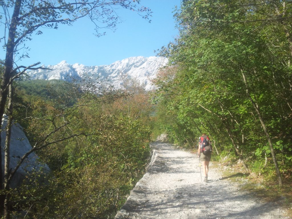 The highway to the hut | Hiking in Paklenica National Park