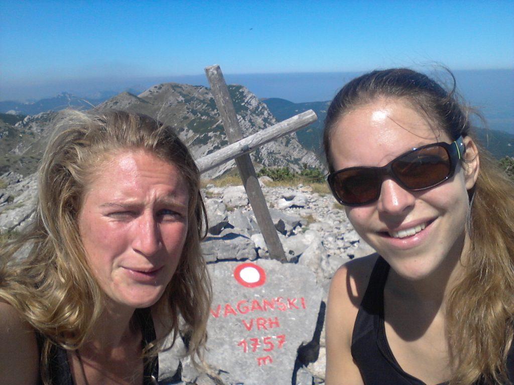 Girls on Top! | Vaganski Vrh | Hiking in Paklenica National Park, Croatia