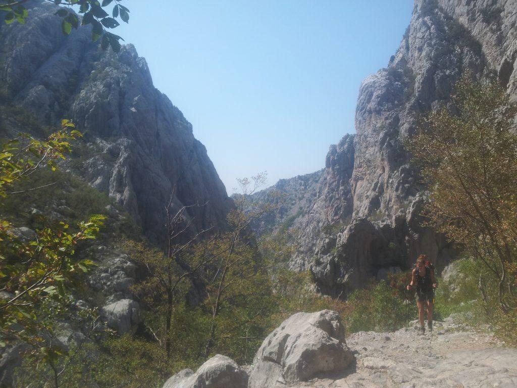 The-way-back-through-Velika-Paklenica-hiking-via-dinarica-croatia
