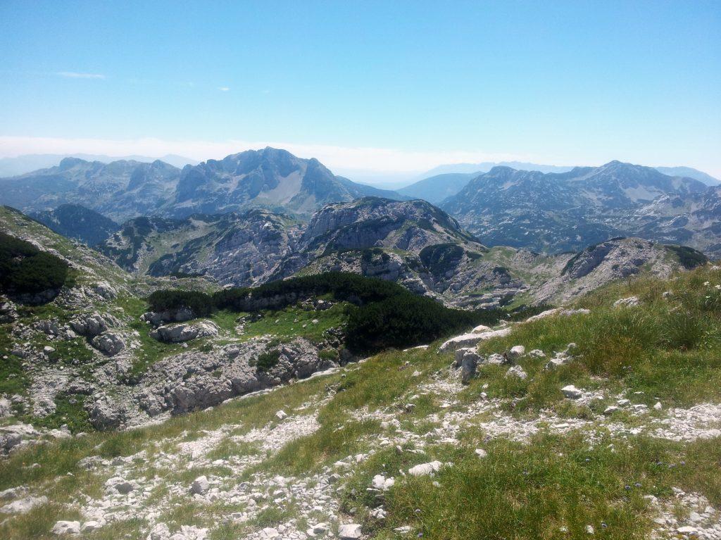 ... from Jezerce to Zelena Glava