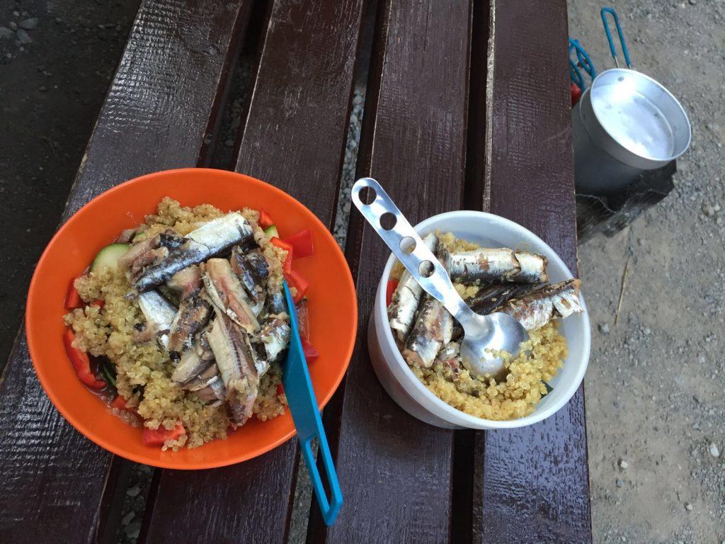Haute-cuisine-camping-hiking-food
