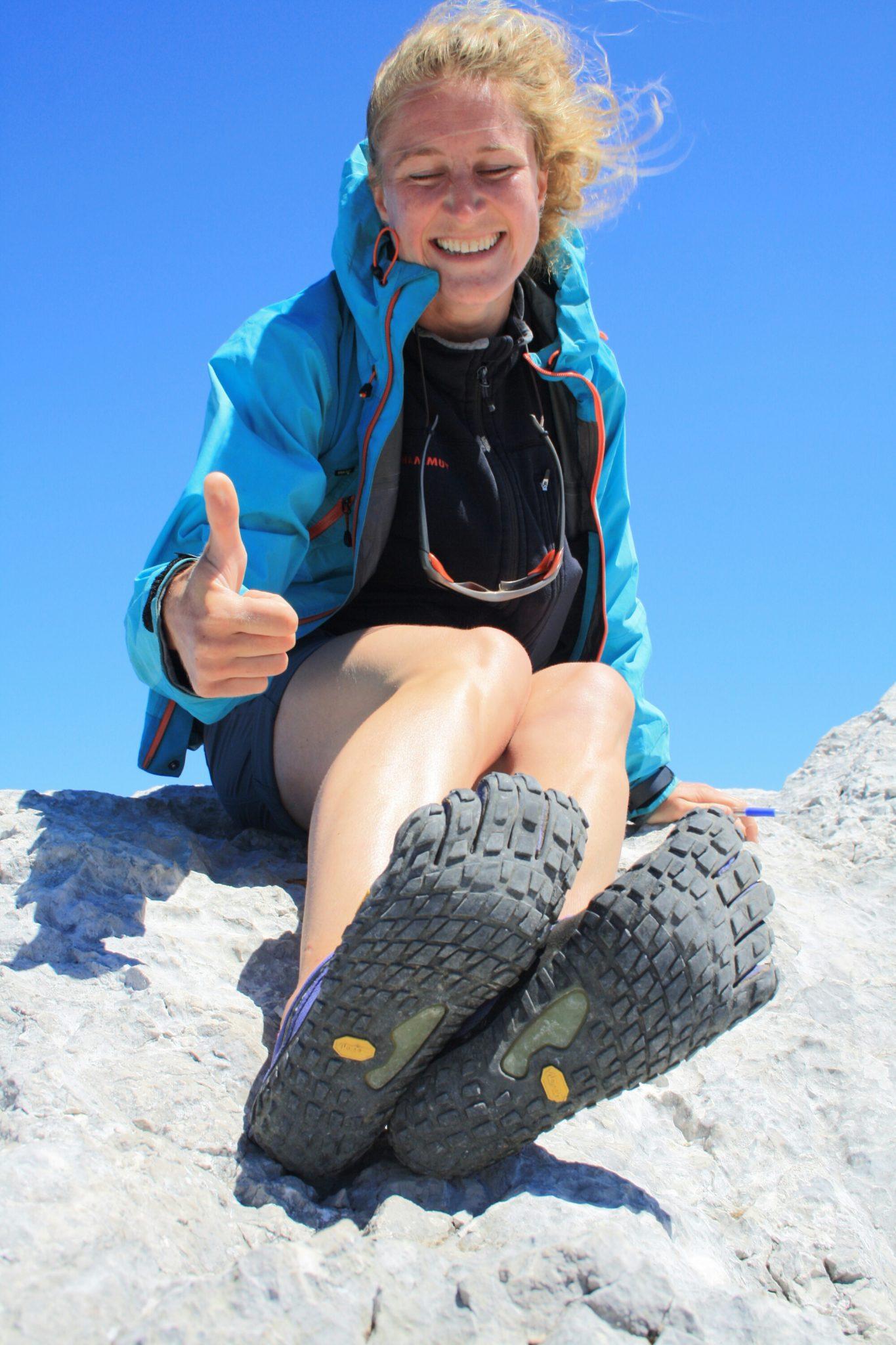 Waar zijn je schoenen? Wandelen door de bergen op FiveFingers (Spyridon MR)