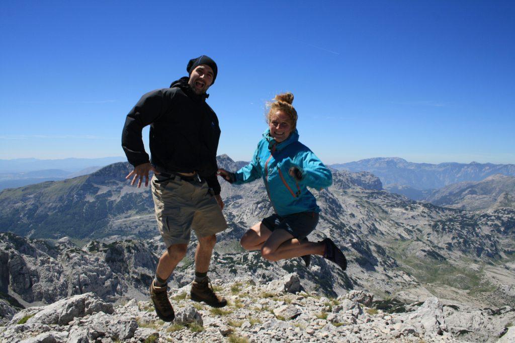 Jump - spring - Prenj! BiH Via Dinarica