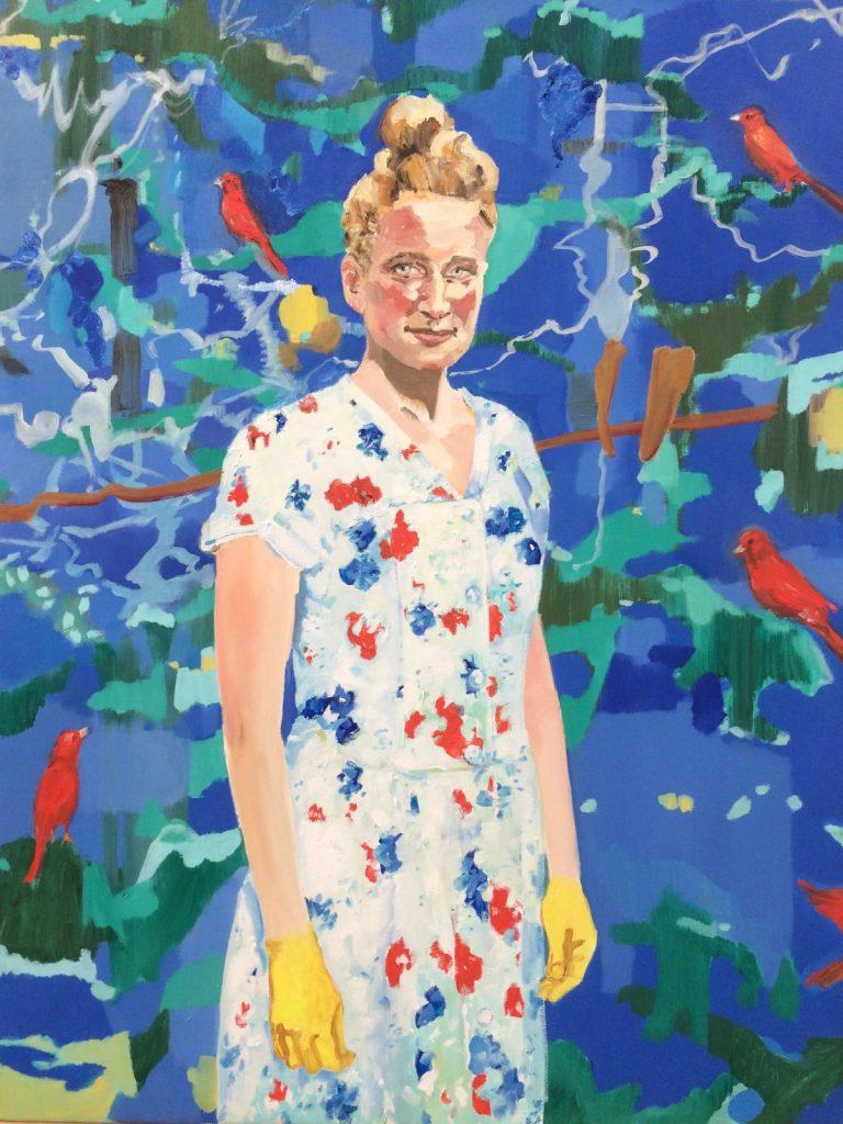 POST | Schilderij van Marit Dik