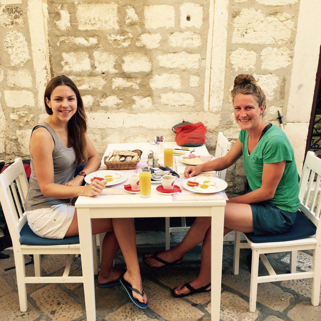 Zadar, Kroatië met Caroline