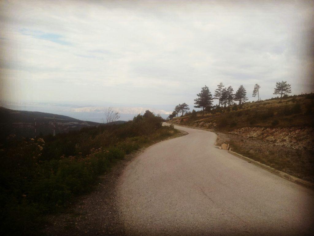 The right road to Krivi Put | Via Dinarica White Trail Croatia