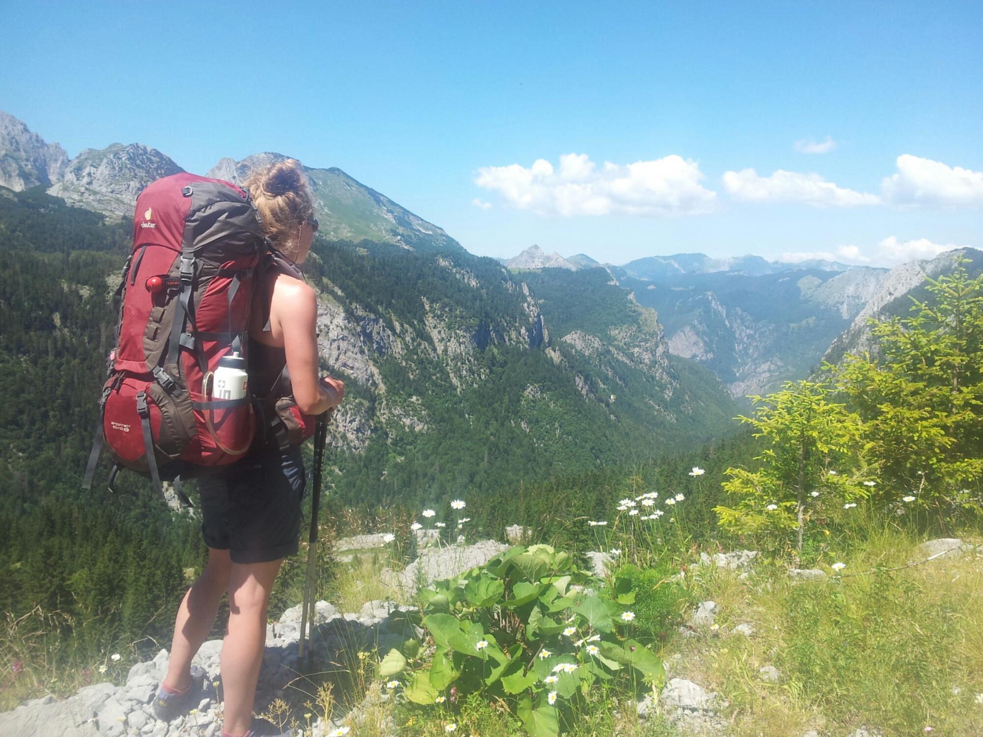 Hiking_via_dinarica_albania_slovenia_white_trail