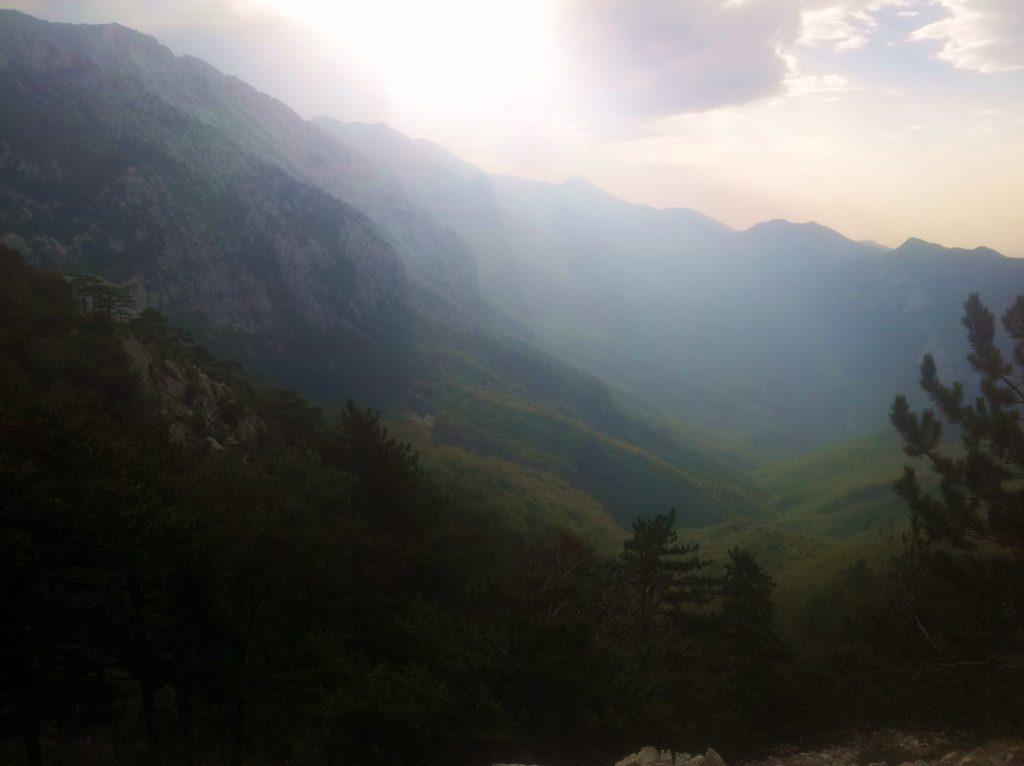 VIA DINARICA white trail CROATIA | Early morning in Paklenica NP