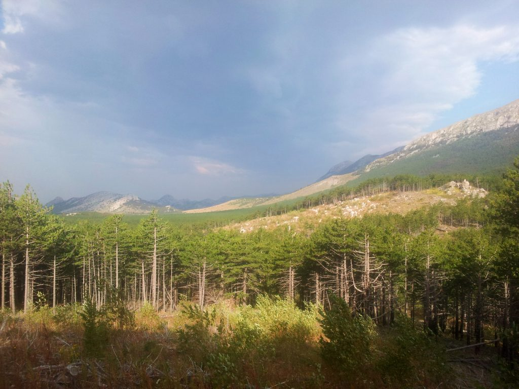 Paklenica NP, hiking Via Dinarica Croatia | Incredible Croatian Karst