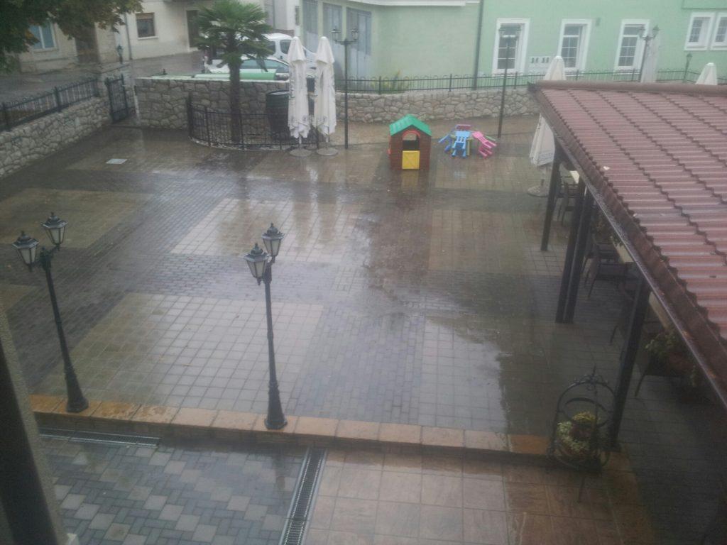Joyful arrival in Ilirska Bistrica