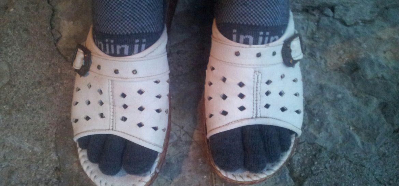 BLOG | Blog over Injinji sokken, zweetvoeten en teenschoenen