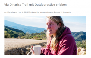 In de media: Interview met OutdoorActive door Eliana Gramer
