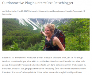 in de media outdooractive nieuws eva smeele