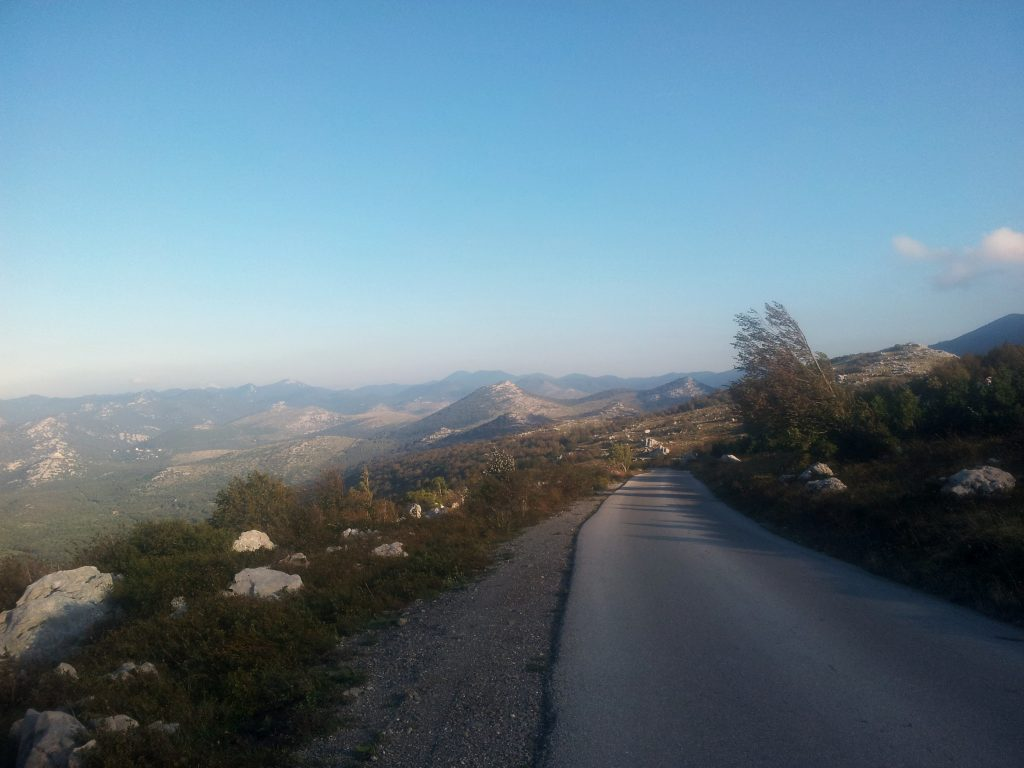 Early morning road hike | HIKING VIA DINARICA WHITE TRAIL, crossing the Balkans on foot