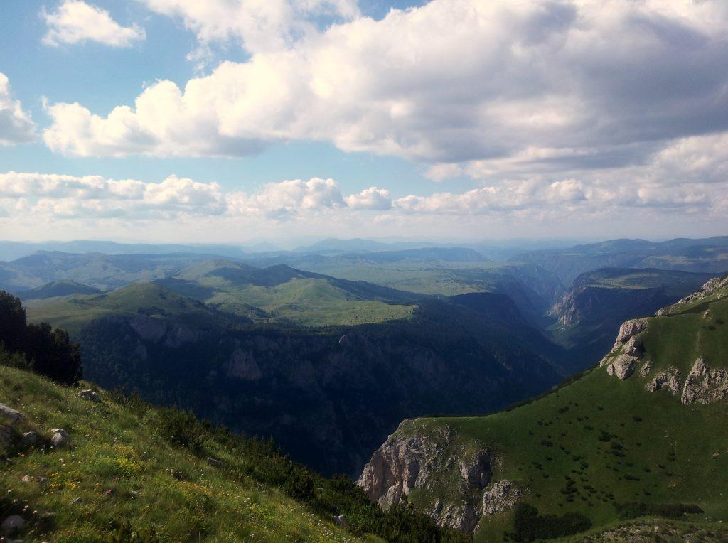 Hiking Via Dinarica White Trail through the Mountains of Montenegro, Sušica Kanjon