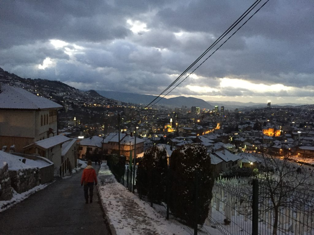 Sarajevo yellow fortress