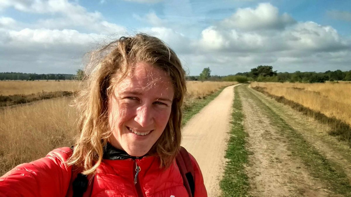 Hiking_the_Pilgrim's_path_through_the_Netherlands