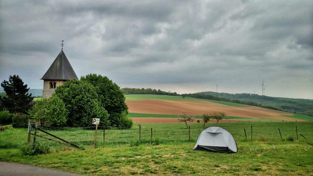 Parkeerplaats kamperen in Luxemburg