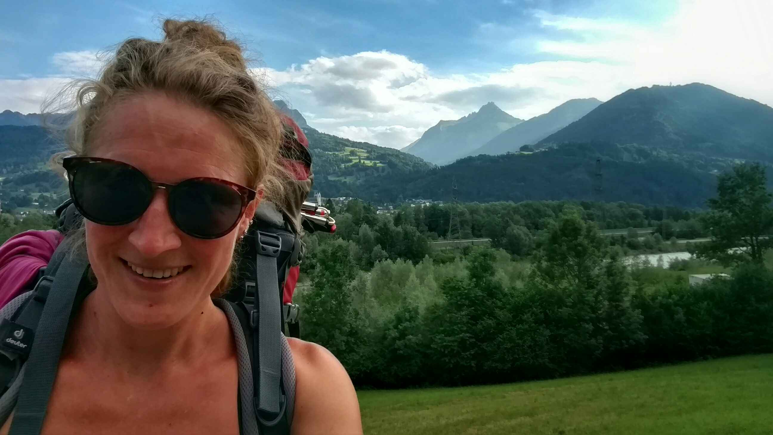 Hiking Via Alpina Austria, first day