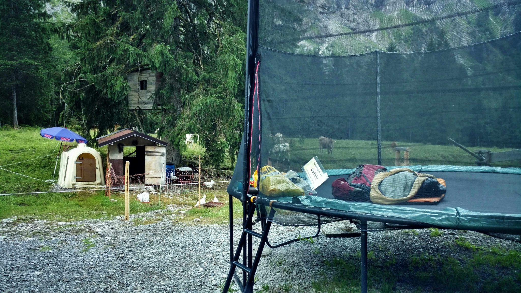 Gutenalp_trampoline_bivak