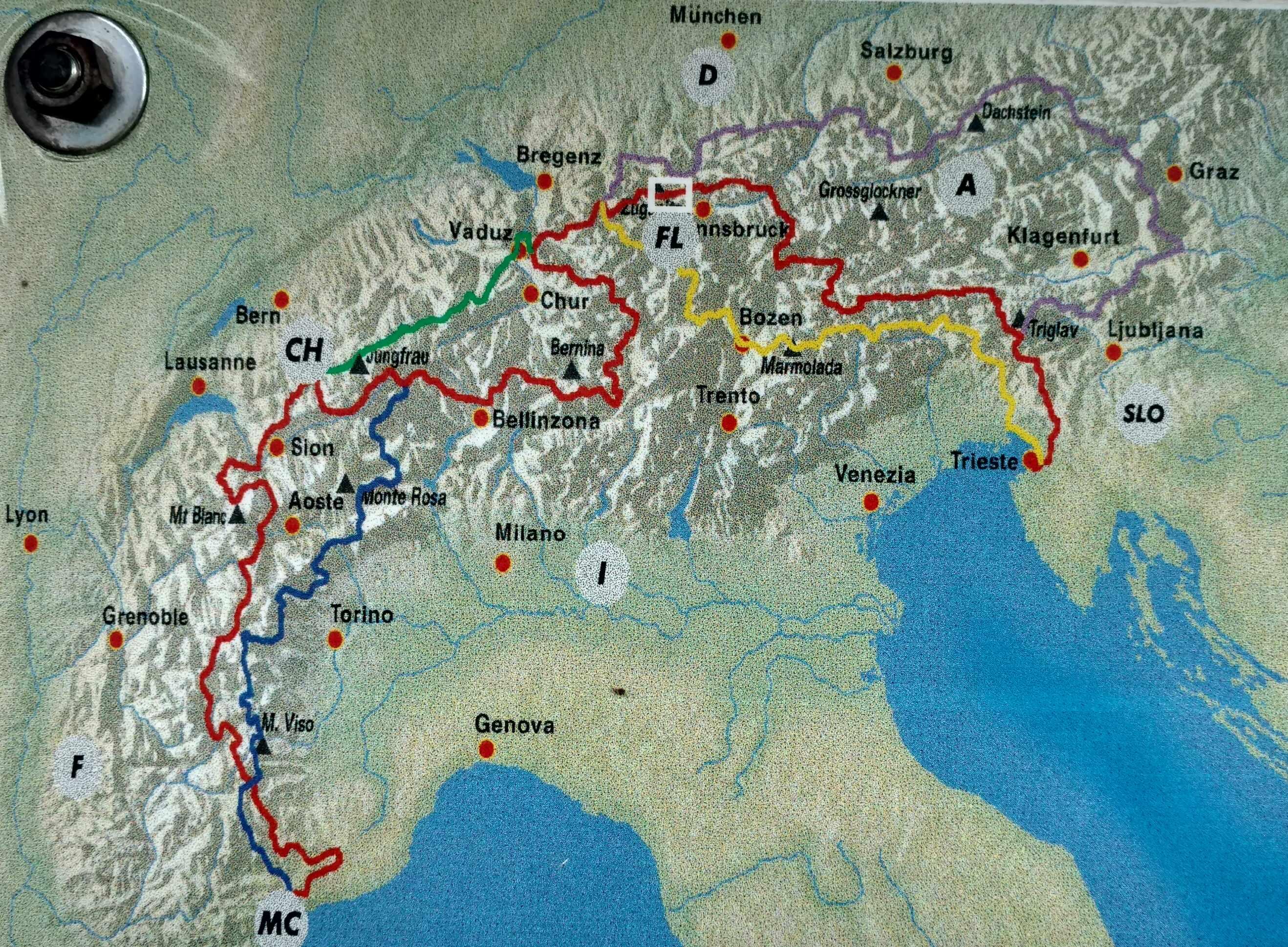 Via Alpina 5 Trails
